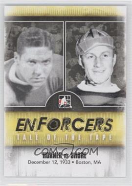 2011-12 In the Game Enforcers #33 - Red Horner, Eddie Shore
