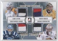 Liam Liston, David Honzik, Christopher Gibson, Jordan Binnington /10