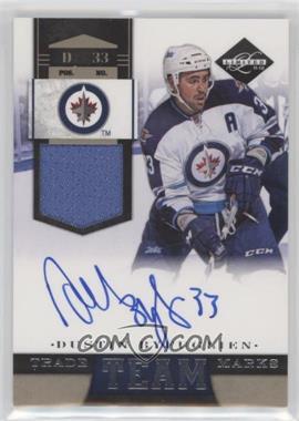2011-12 Limited - Team Trademarks - Materials Signatures [Autographed] [Memorabilia] #3 - Dustin Byfuglien /49