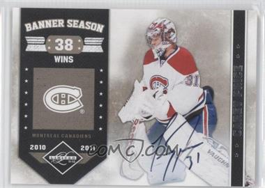2011-12 Limited Banner Season Signatures [Autographed] #14 - Carey Price