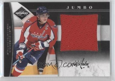 2011-12 Limited Jumbo Materials #1 - Alex Ovechkin /99