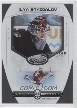 2011-12 Panini Certified Masked Marvels All-Star 2011-2012 #13 - Ilya Bryzgalov /5