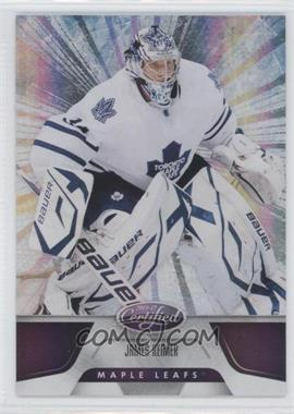 2011-12 Panini Certified Totally Purple #83 - James Reimer /10