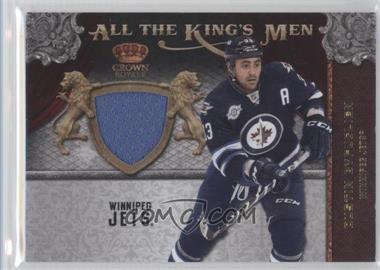 2011-12 Panini Crown Royale - All the King's Men Memorabilia #21 - Dustin Byfuglien