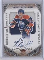Rookie Silhouettes Signature Prime Materials - Ryan Nugent-Hopkins /99