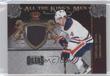 2011-12 Panini Crown Royale All the King's Men Memorabilia Prime #50 - Taylor Hall /50