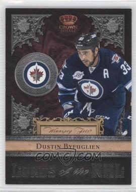 2011-12 Panini Crown Royale Lords of the NHL #25 - Dustin Byfuglien