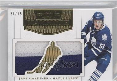 2011-12 Panini Dominion Mammoth Jerseys Die-Cut Prime #43 - Jake Gardiner /25
