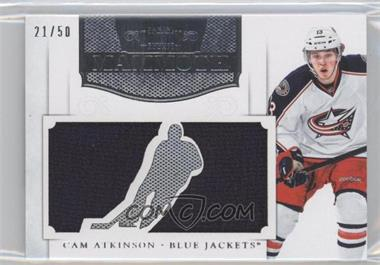2011-12 Panini Dominion Mammoth Jerseys Die-Cut #9 - Cam Atkinson /50
