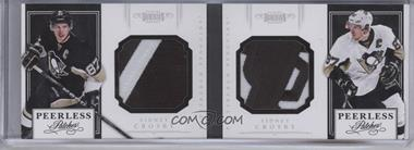 2011-12 Panini Dominion Peerless Patches Dual Booklets #20 - Sidney Crosby /5