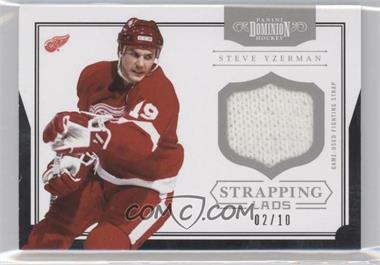 2011-12 Panini Dominion Strapping Lads #16 - Steve Yzerman /10