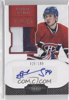 Autographed Rookie Patches - Alexei Emelin /199