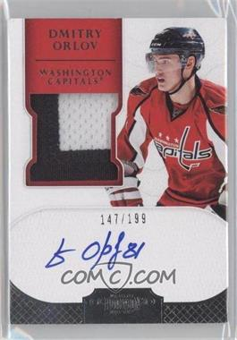 2011-12 Panini Dominion #181 - Autographed Rookie Patches - Dmitry Orlov /199