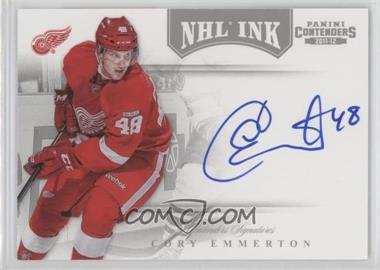 2011-12 Panini Playoff Contenders - NHL Ink #16 - Cory Emmerton