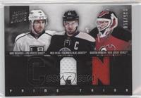 Martin Brodeur, Mike Richards, Rick Nash /150