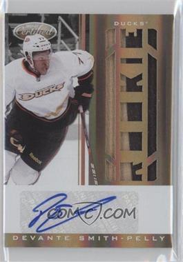 2011-12 Panini Rookie Anthology - Certified Freshman Fabrics Signatures - Mirror Gold #251 - Devante Smith-Pelly /25