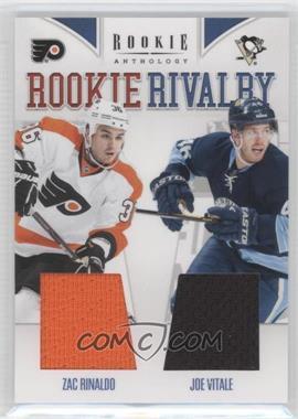 2011-12 Panini Rookie Anthology - Rookie Rivalry Materials #16 - Joe Vitale, Zac Rinaldo