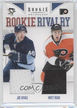 2011-12 Panini Rookie Anthology - Rookie Rivalry Materials #43 - Matt Read, Joe Vitale