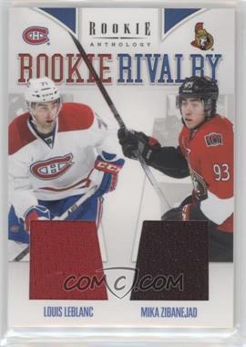 2011-12 Panini Rookie Anthology - Rookie Rivalry Materials #54 - Louis Leblanc, Mika Zibanejad