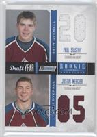 Justin Mercier, Paul Stastny