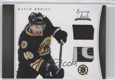 2011-12 Panini Rookie Anthology Luxury Suite #3 - David Krejci