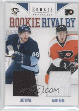 2011-12 Panini Rookie Anthology Rookie Rivalry Materials #43 - Matt Read, Joe Vitale