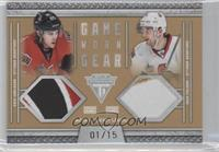 Erik Karlsson, Nick Foligno /15