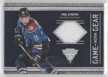 2011-12 Panini Titanium Game-Worn Gear #32 - Paul Stastny