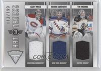 Carey Price, Henrik Lundqvist, Tim Thomas /199