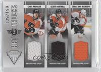 Chris Pronger, James van Riemsdyk, Scott Hartnell /199