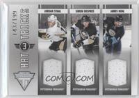 James Neal, Simon Despres, Jordan Staal /199