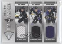 Anze Kopitar, Dustin Brown, Jack Johnson /199