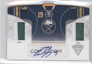 2011-12 Panini Titanium Sweaters Memorabilia Autographs Home Jerseys Prime #28 - Cody Hodgson /25