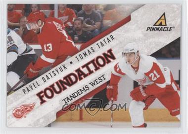 2011-12 Pinnacle - Foundation Tandems West #5 - Tomas Tatar, Pavel Datsyuk