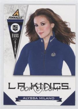 2011-12 Pinnacle Fans of the Game #7 - Alyssa Milano