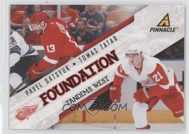 2011-12 Pinnacle Foundation Tandems West #5 - Tomas Tatar, Pavel Datsyuk