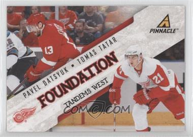 2011-12 Pinnacle Foundation Tandems West #5 - Tomas Tatar, Pavel Datsyuk