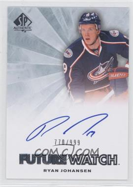 2011-12 SP Authentic #245 - Ryan Johansen /999