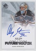 Autographed Future Watch - Alex Stalock /999