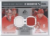 Jimmy Howard, Nicklas Lidstrom /100