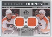 Claude Giroux, James van Riemsdyk /100