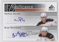 Nathan Horton, Brad Marchand /25