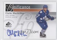 Clarke MacArthur /50