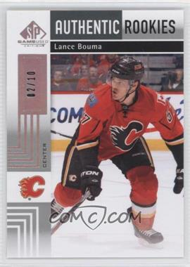 2011-12 SP Game Used Edition Silver Spectrum #106 - Lance Bouma /10