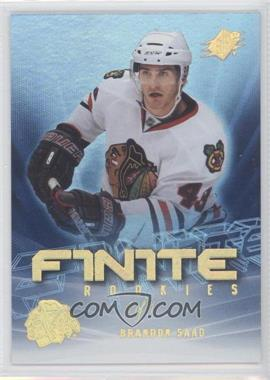2011-12 SPx Finite Rookies Spectrum #F16 - Brandon Saad /1