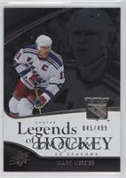 Legends of Hockey - Mark Messier /499