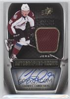 SPx Auto Rookie Jerseys Level 2 - Gabriel Landeskog /499