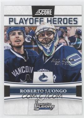 2011-12 Score Playoff Heroes All-Star 2011-2012 #10 - Roberto Luongo /5