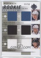 Mark Scheifele, Brett Connolly, Sean Couturier /50