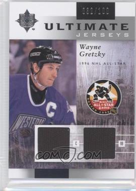 2011-12 Ultimate Collection Ultimate Jerseys #UJ-WG - Wayne Gretzky /100